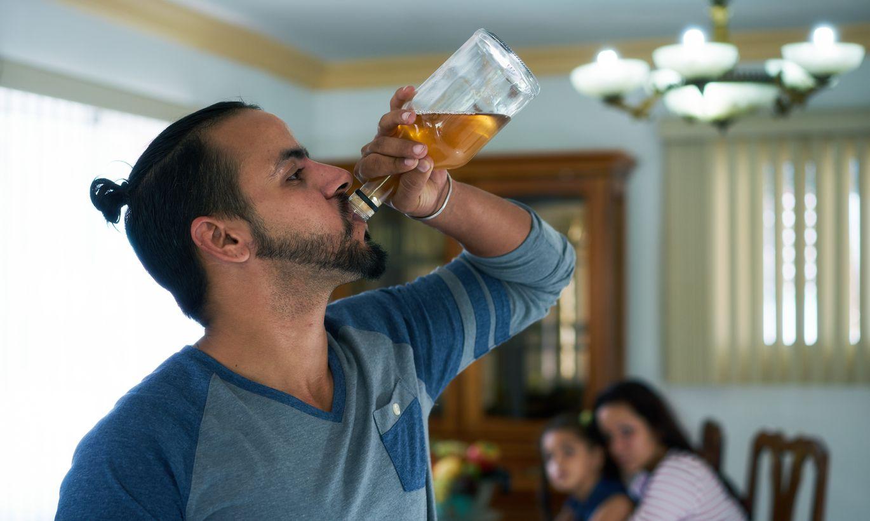 Как бросить пьющего мужчину